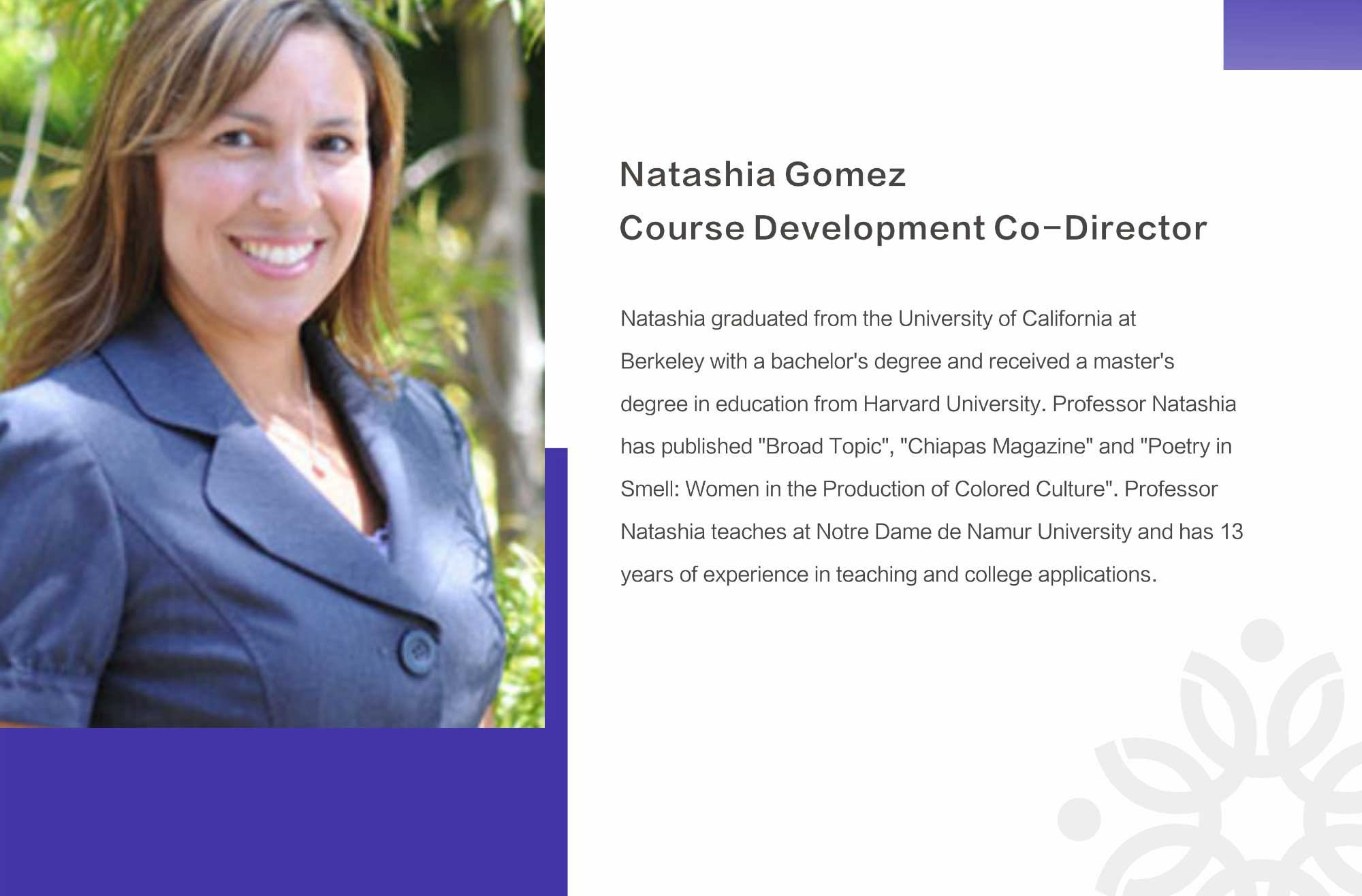 Natashia Gomez-ivyGoal English Tutor